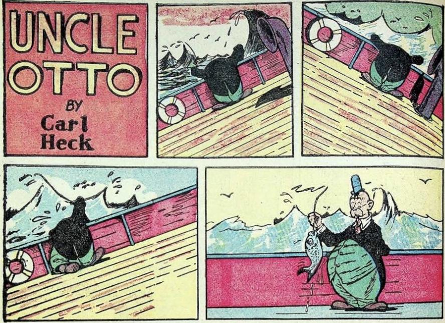 Uncle Otto ur Jumbo Comics #9 (1938). ©Fiction House