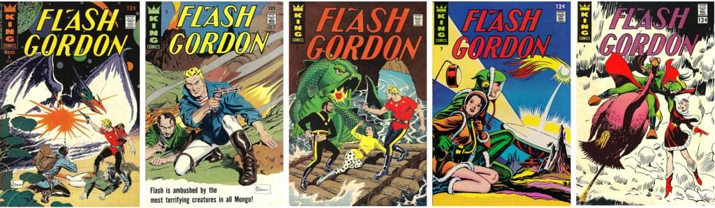 Flash Gordon #4-8 (1967) innehöll även serien Secret Agent X-9. ©KFS