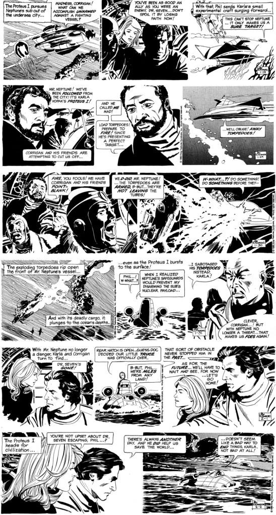 Den avslutande veckan i den 203:e episoden, In the Kingdom of Neptune, och den sista av Williamson, från 28 januari till 2 februari 1980. ©KFS