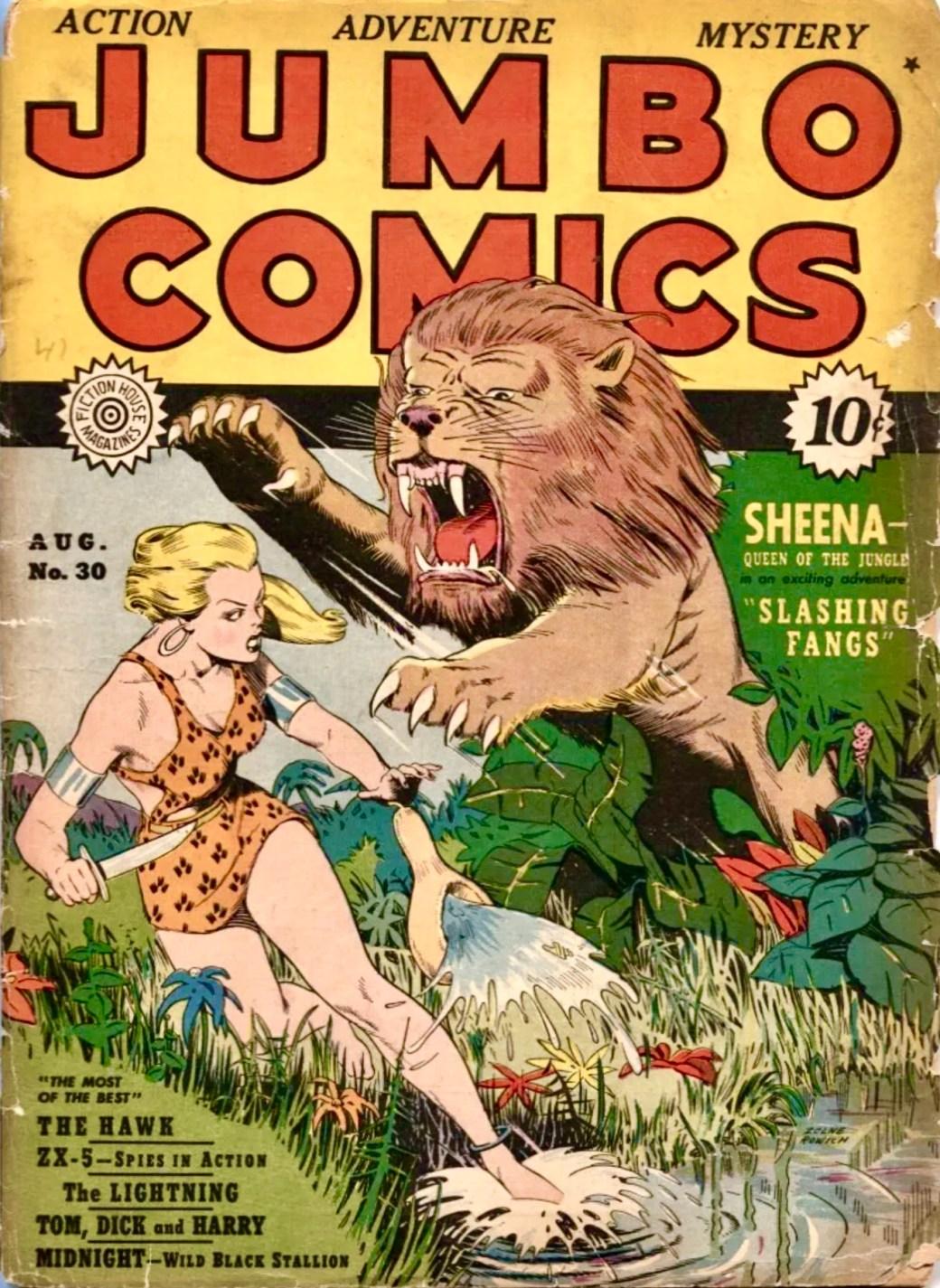 Jumbo Comics #30 (1941)