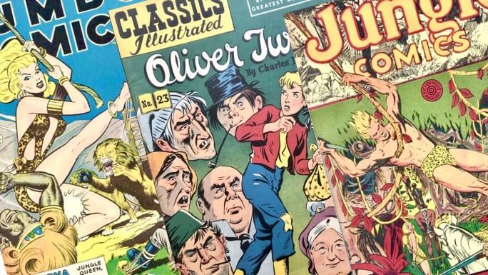 Jerry Iger var med om att skapa några av de tidigaste serietidningarna. ©Fiction House/Gilberton