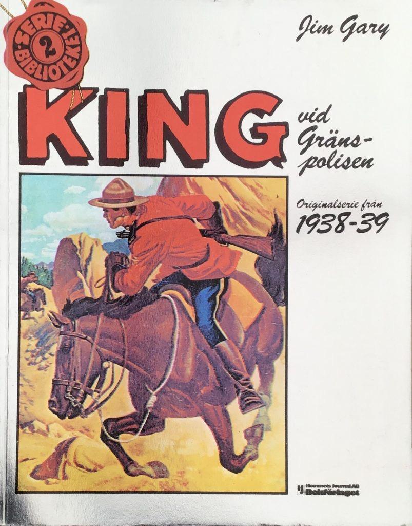 King vid Gränspolisen 1938-39. ©Hemmets Journal
