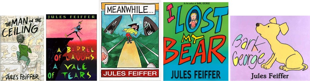 Jules Feiffer är också en prisbelönt barnboksförfattare. ©Feiffer