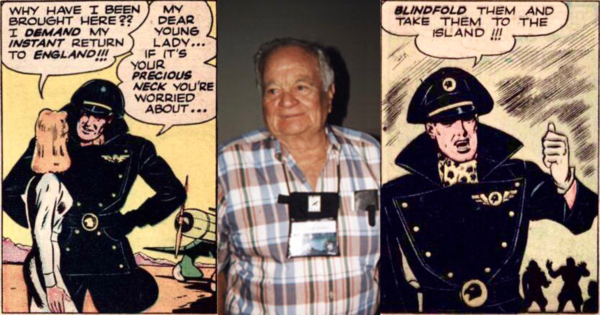 Chuck Cuidera, tecknare av Höken (Blackhawk)