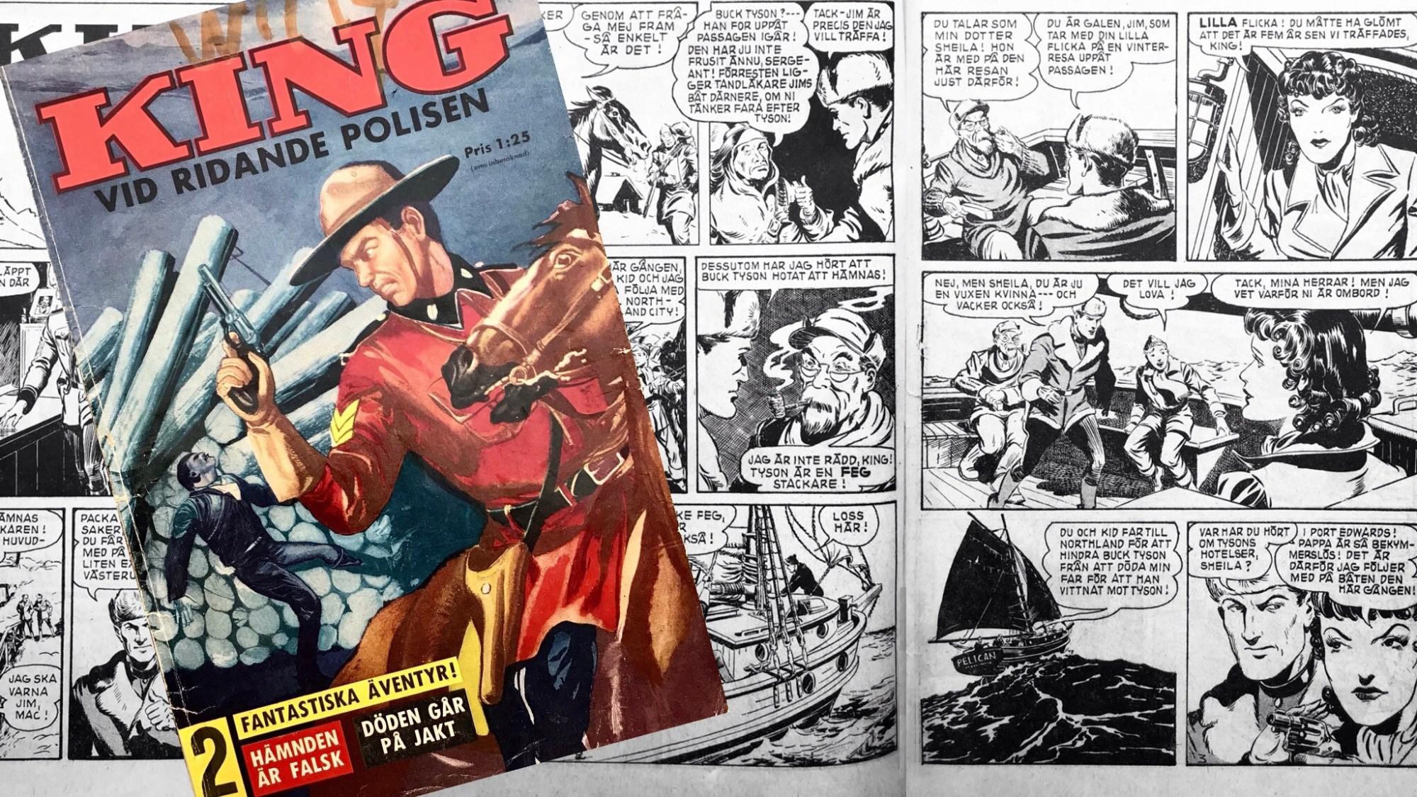 Kung vid ridande polisen (1961)