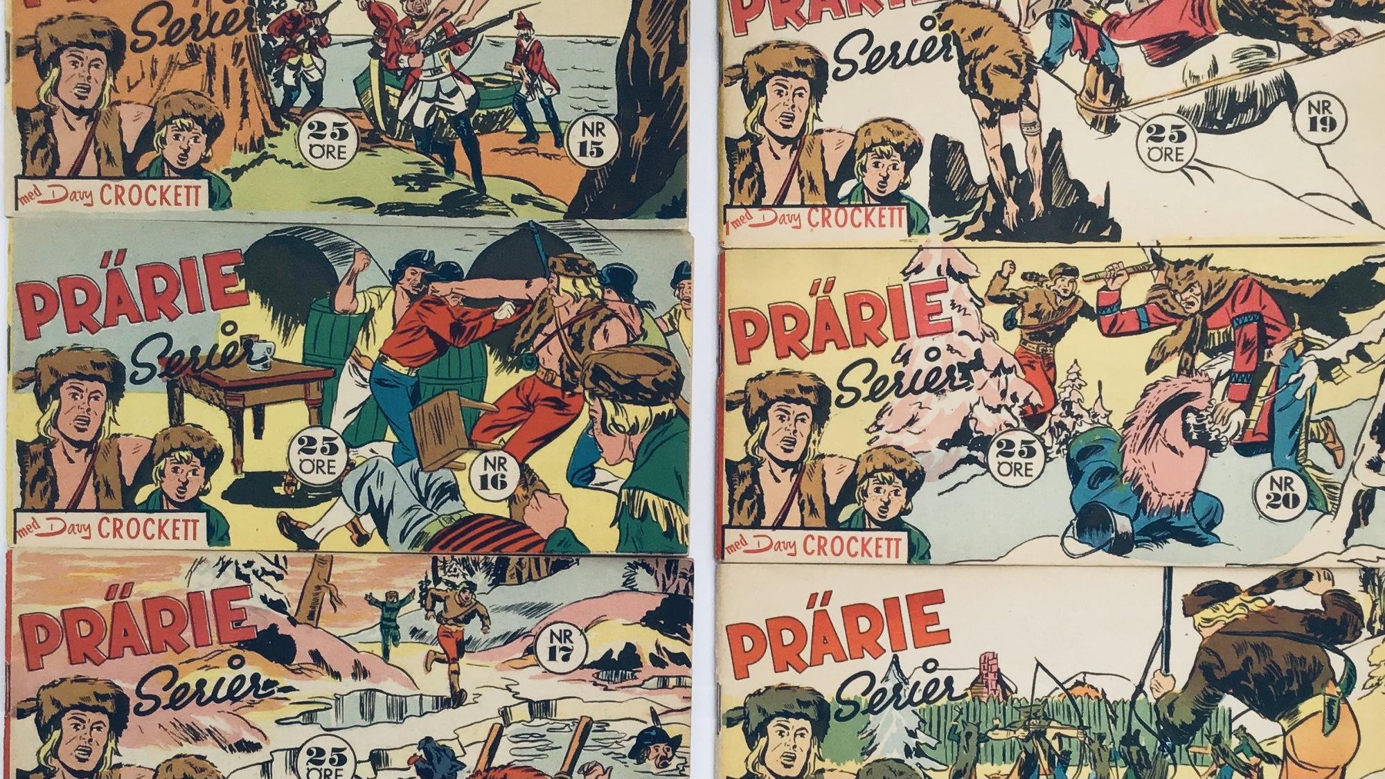 Davy Crockett-äventyr 1959