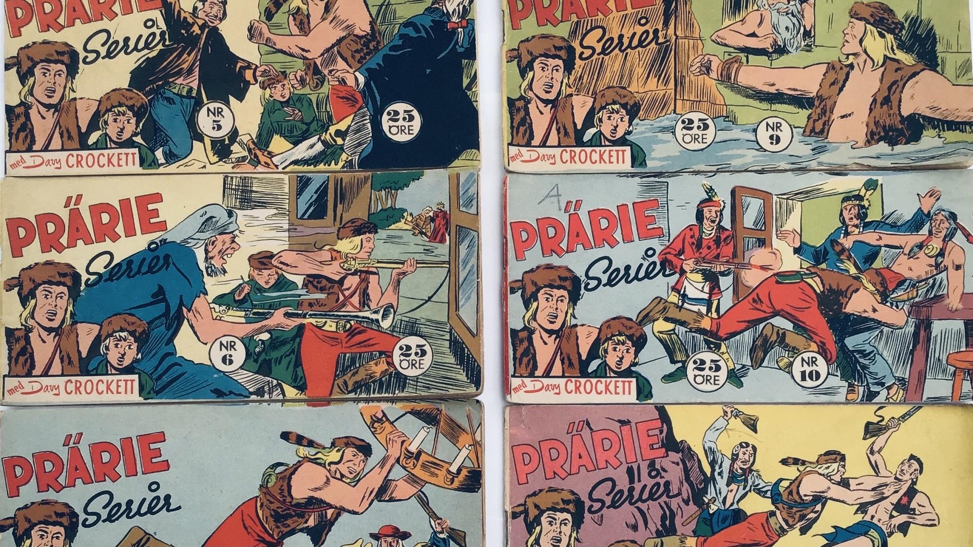 Davy Crockett-äventyr 1960