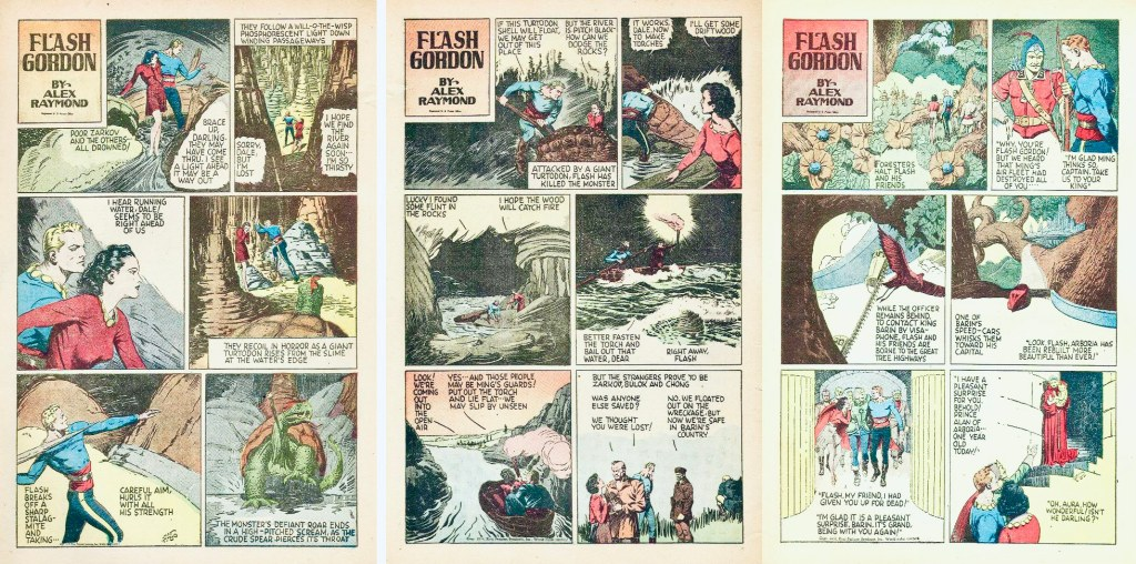Inledande sidor ur FCC #10 (1942). ©Dell