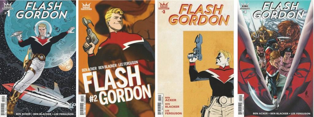 En omslagsversion till King: Flash Gordon (2015). ©Dynamite