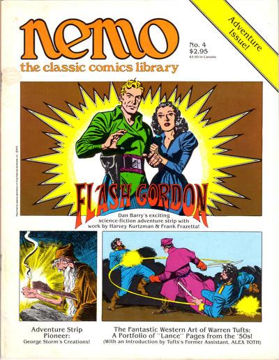 Flash Gordon ingår som en del av innehållet i Nemo: The Classic Comics Library #4 (1983).