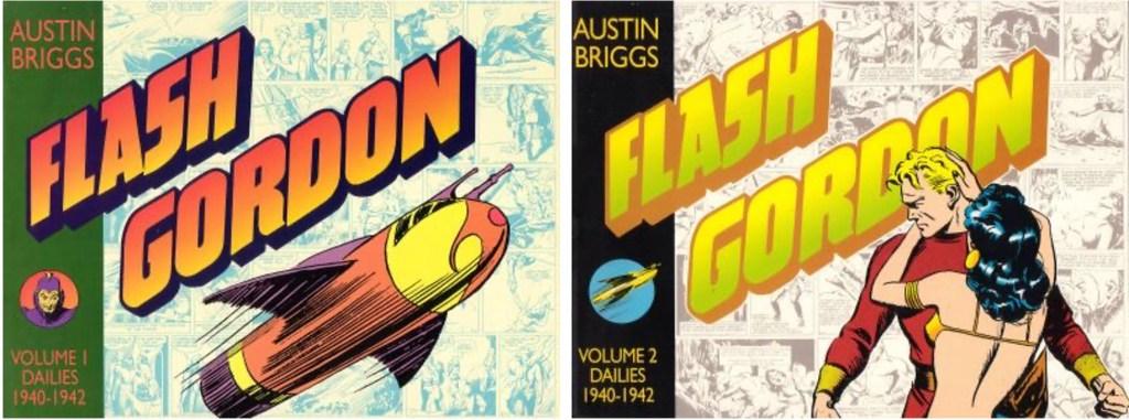 Omslag till Flash Gordon av Austin Briggs (1992-93). ©Kitchen Sink