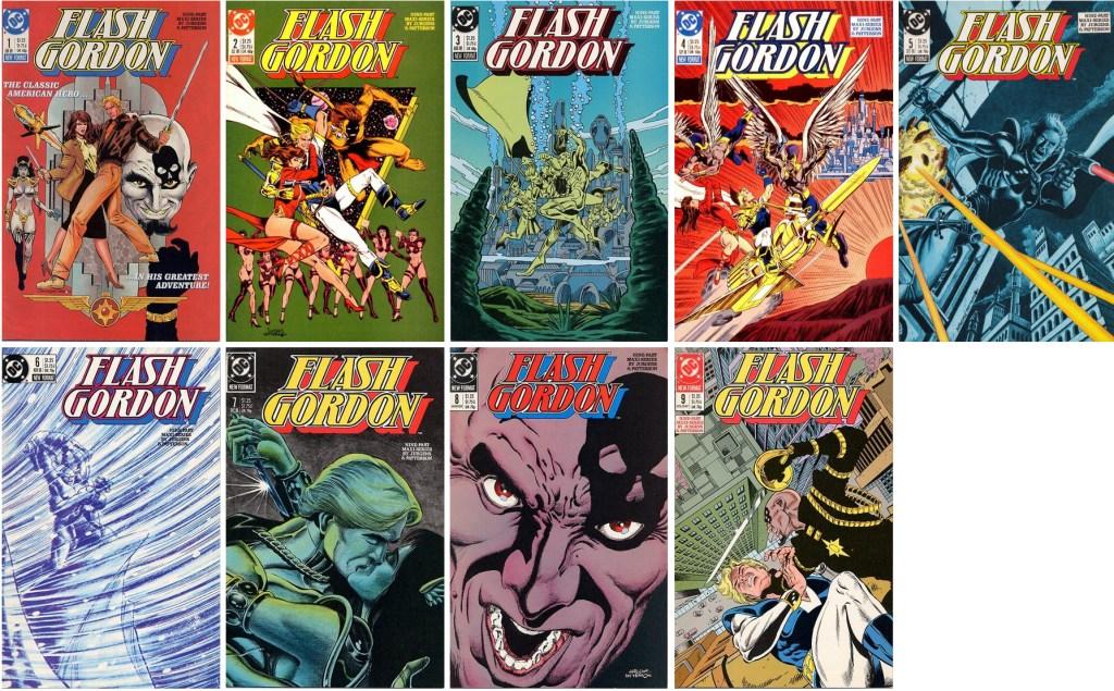 Omslag till Flash Gordon #1-9 (1988). ©DC