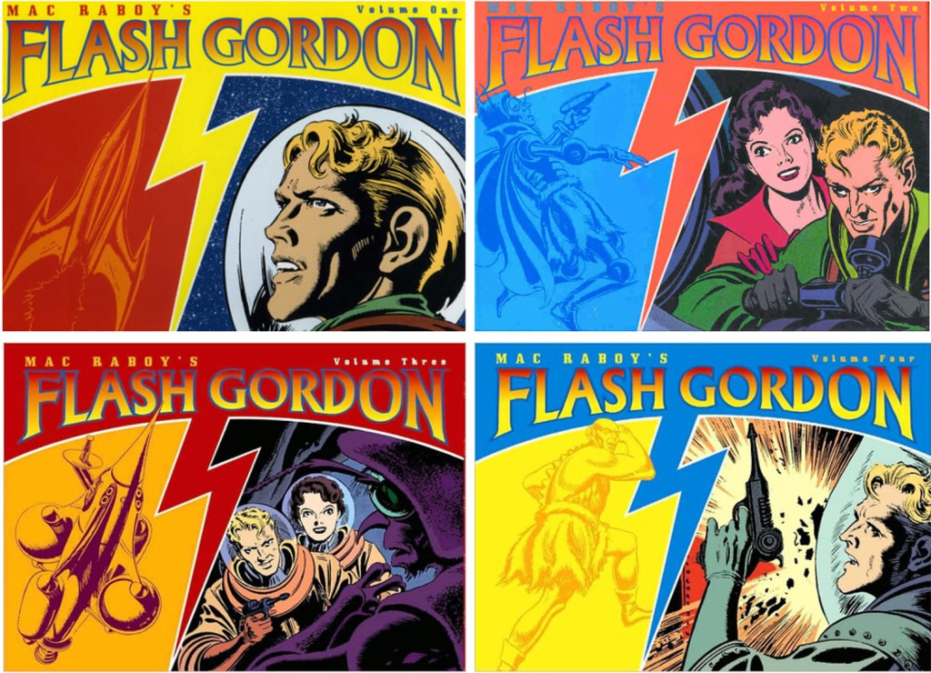 Omslag till Mac Raboy's Flash Gordon (2003). ©Dark Horse