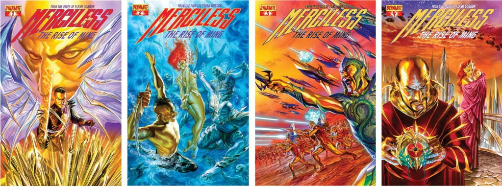 Omslag till Merciless: The Rise of Ming (2012) #1-4. ©Dynamite