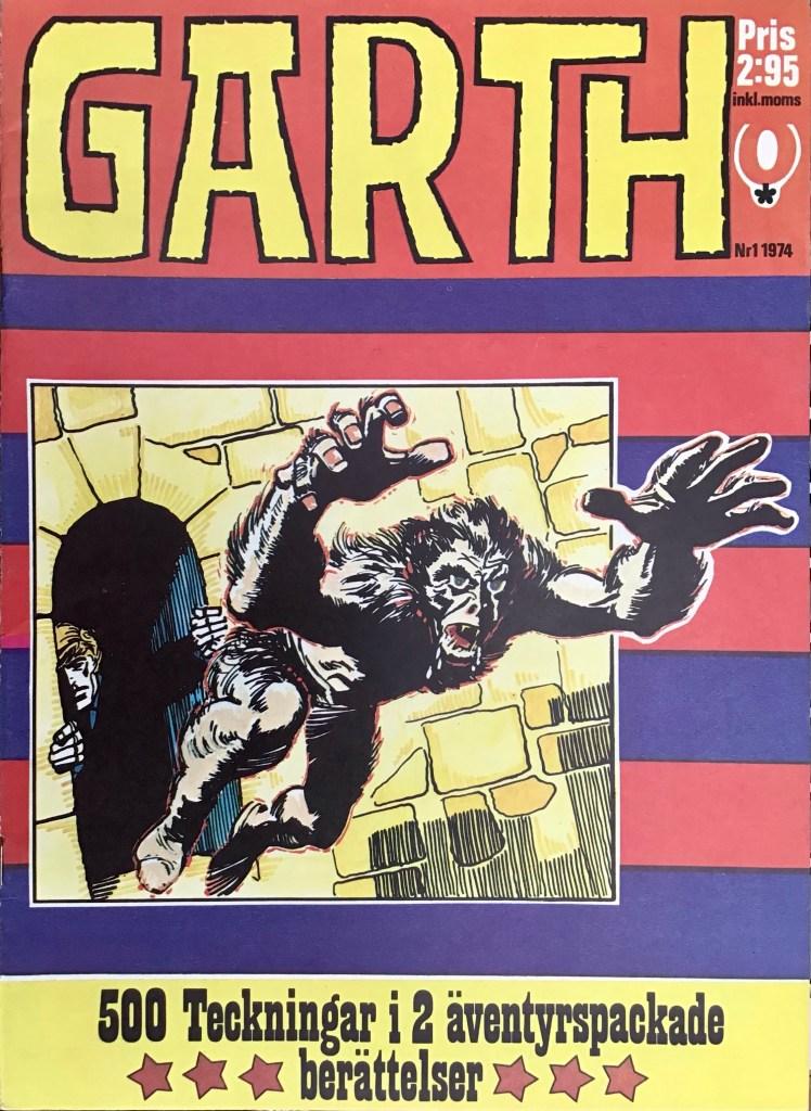 Omslag till Garth, 1974. ©Red Clown