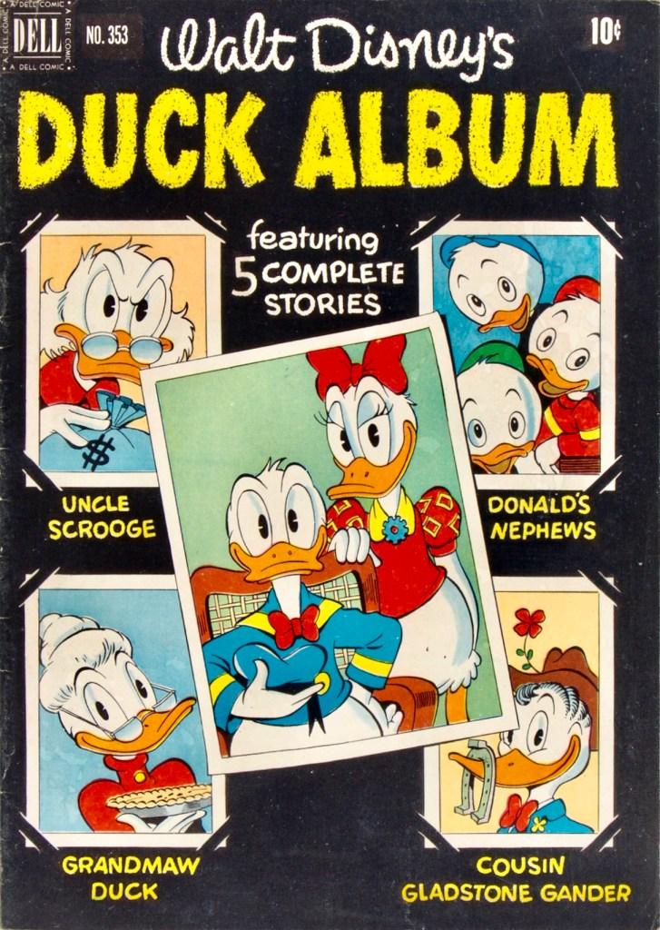 Omslag till Four Color Comic #353 (1951), Cinderella. ©Dell/Disney