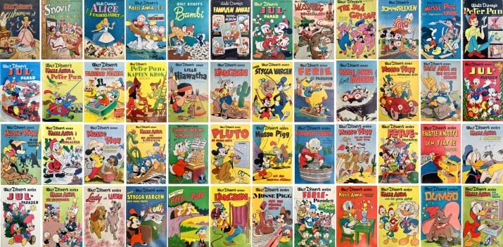 Walt Disney's serier 1950-56. ©Richters/Disney