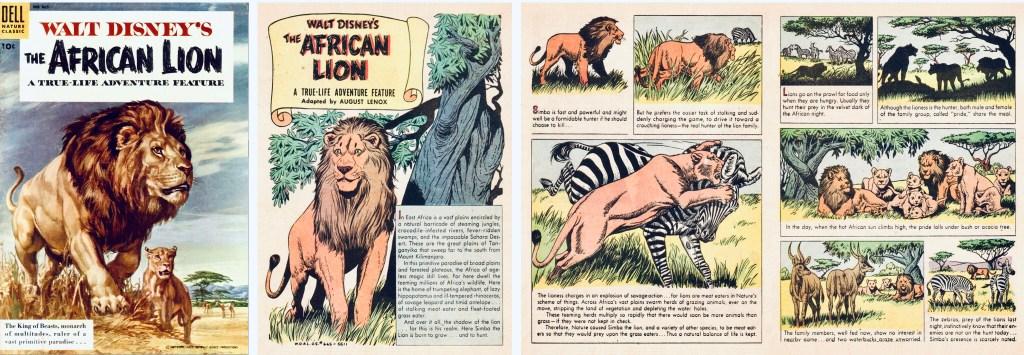 Omslag och inledande sidor ur Four Color Comic #665. ©Dell/Disney