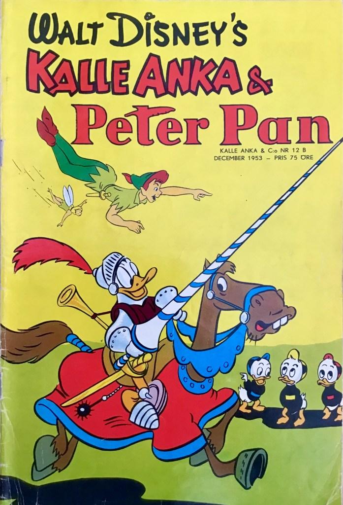 Omslag till Kalle Anka & C:o nr 12B, 1953. ©Richters/Disney