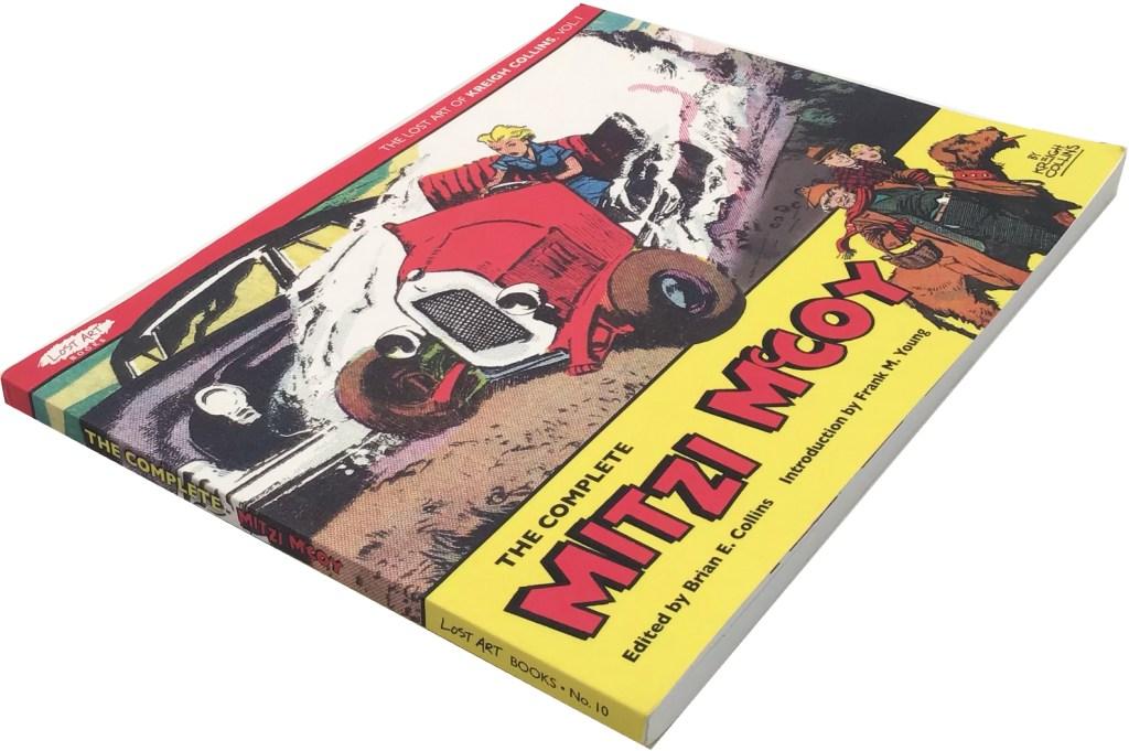 The Complete Mitzi McCoy är en omfångsrik volym på 140 sidor. ©Picture This Press