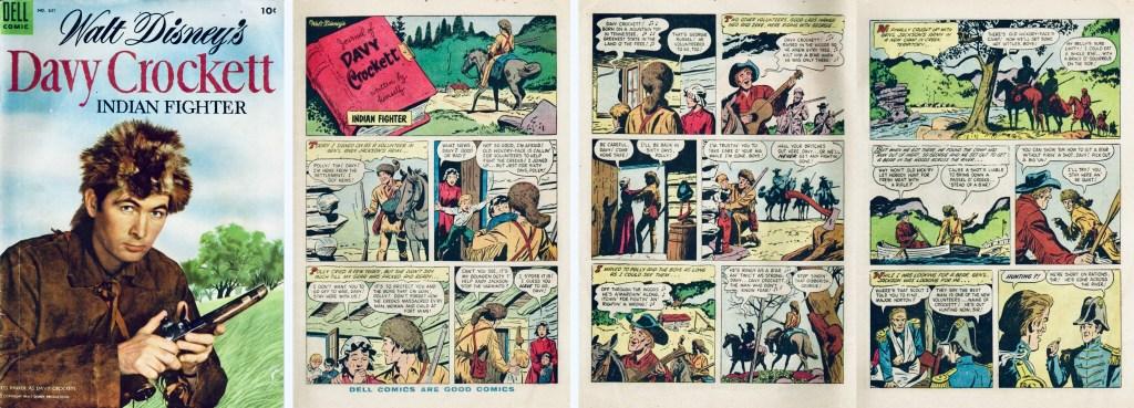 Omslag och inledande sidor ur Four Color Comic #631. ©Dell/Disney