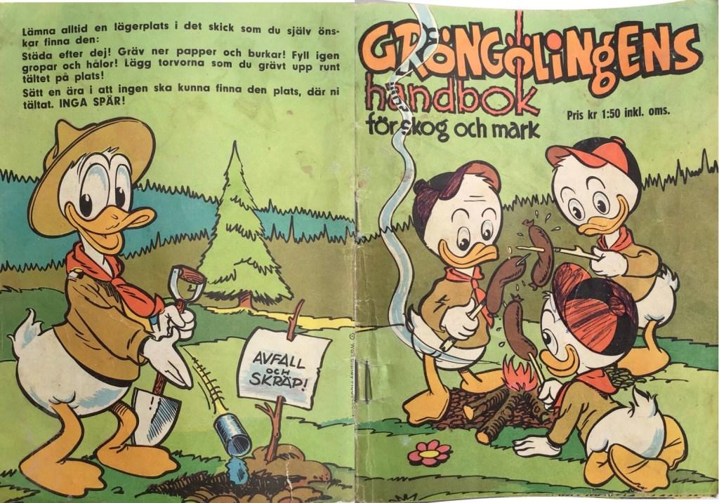 Omslagets baksida och framsida. ©Hemmets Journal