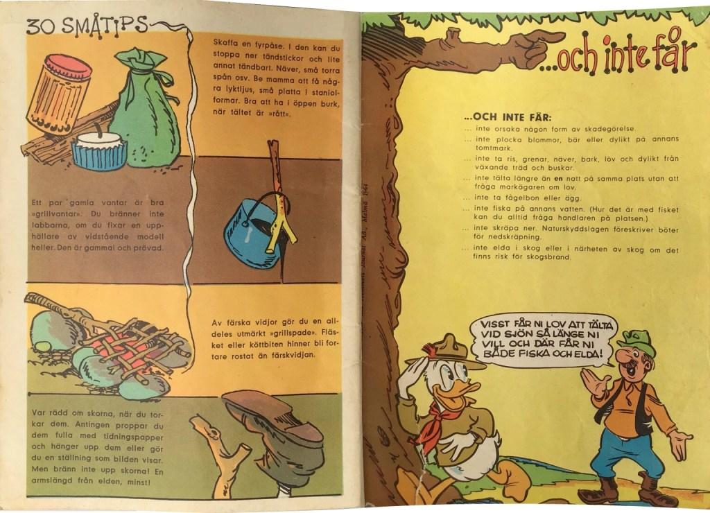 Gröngölingens handbok, Sidan 30-31: Småtips, …och inte får göra. ©Hemmets Journal
