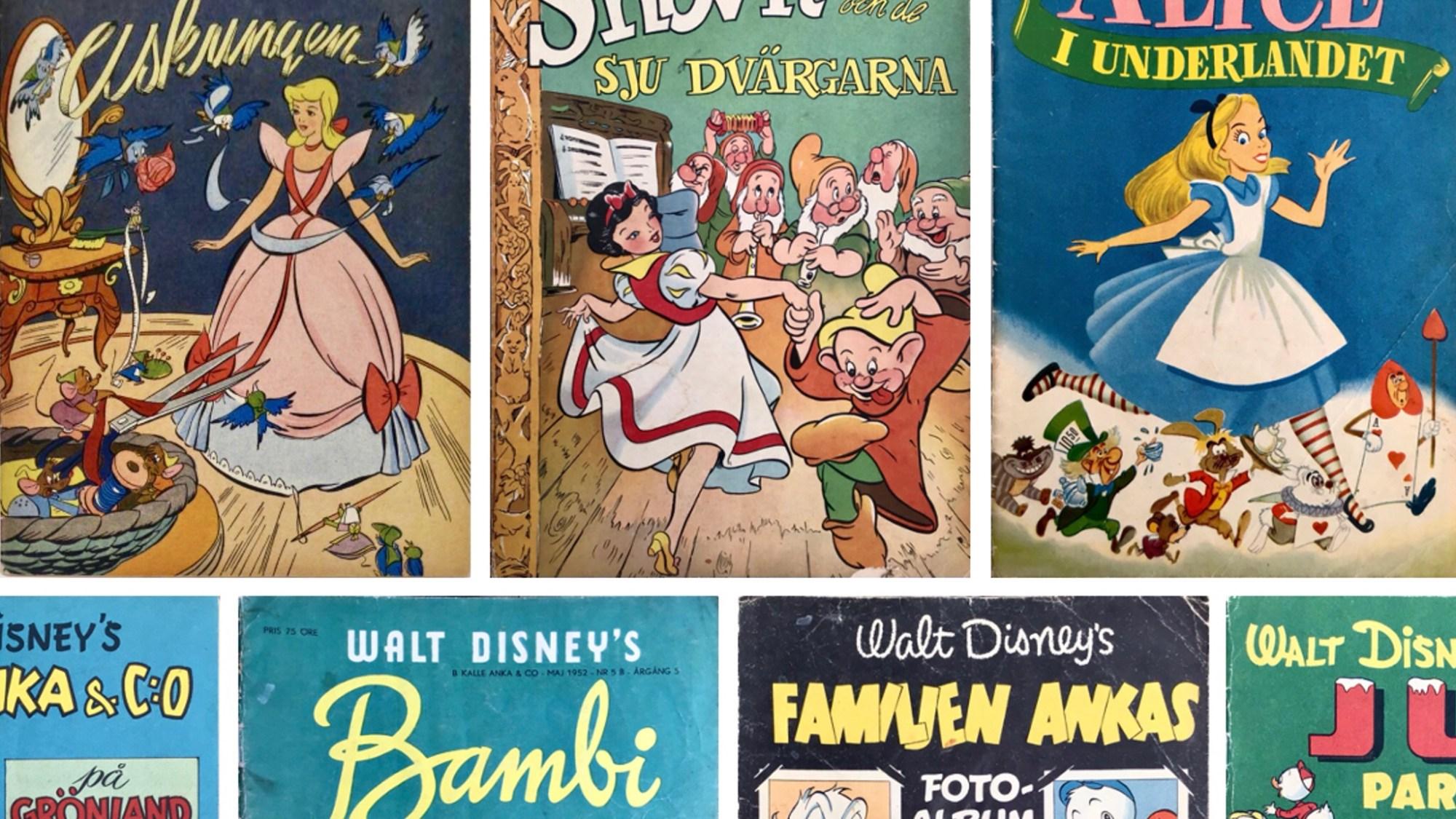 Walt Disney's serier 1950-52
