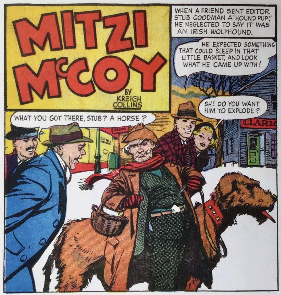 En serieruta från 15 maj 1949 som inleder den fjärde episoden. ©NEA/Picture This Press