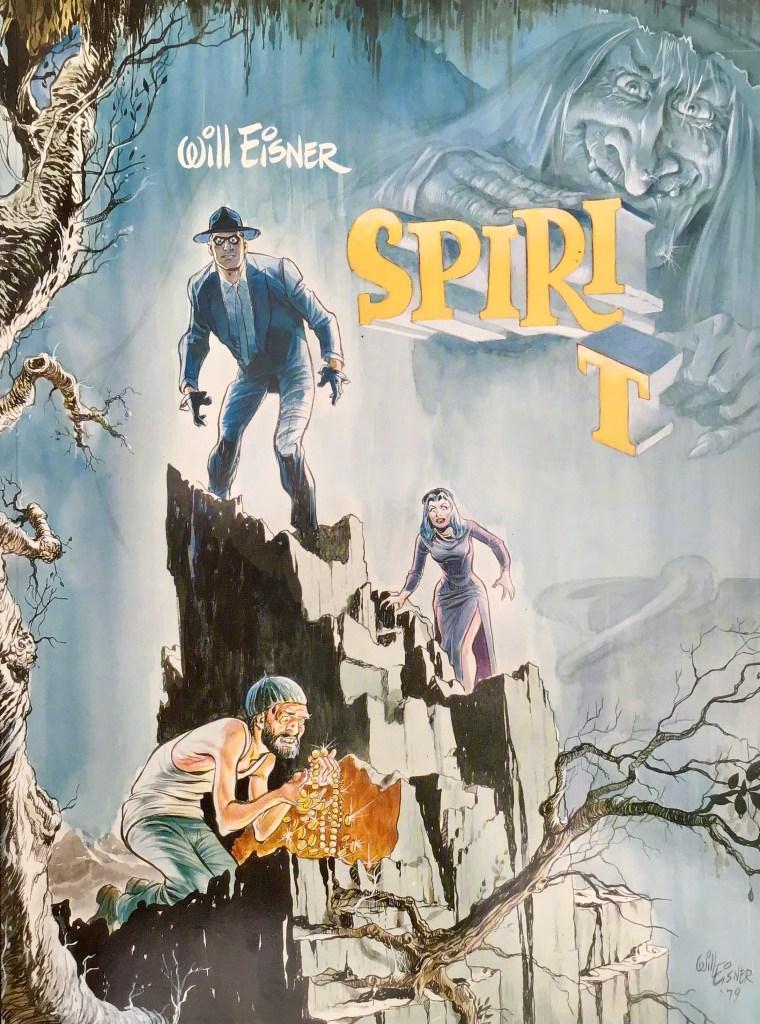 Omslag till Spirit 9 (1988). ©Carlsen/Eisner