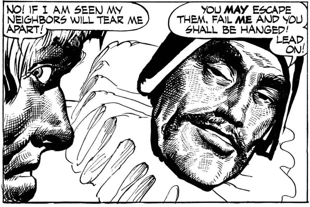 En serieruta från 12 augusti 1956. ©NEA