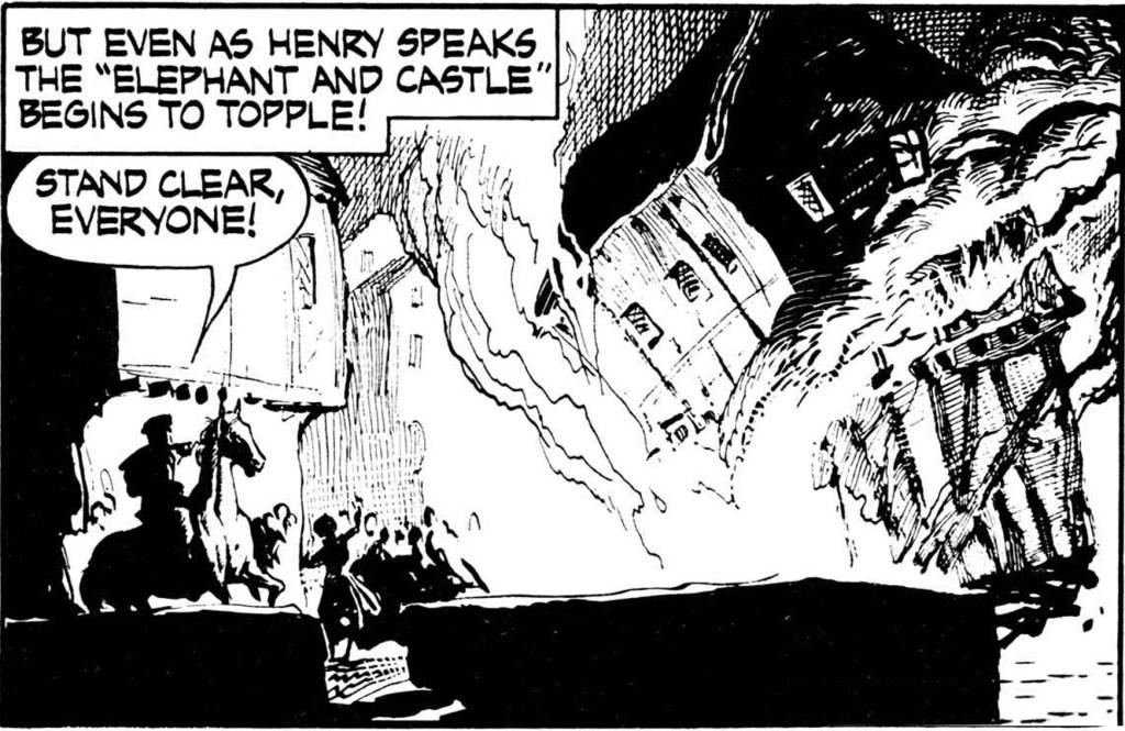 En serieruta från 2 december 1956. ©NEA