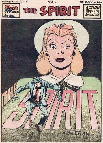 Inledande sida i original, från 11 april 1948. ©Register&Tribune
