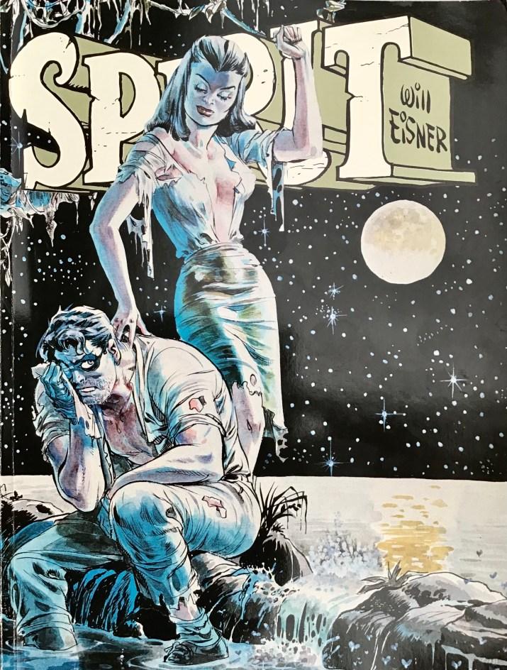 Omslag till Spirit 5 (1984). ©Alvglans/Eisner