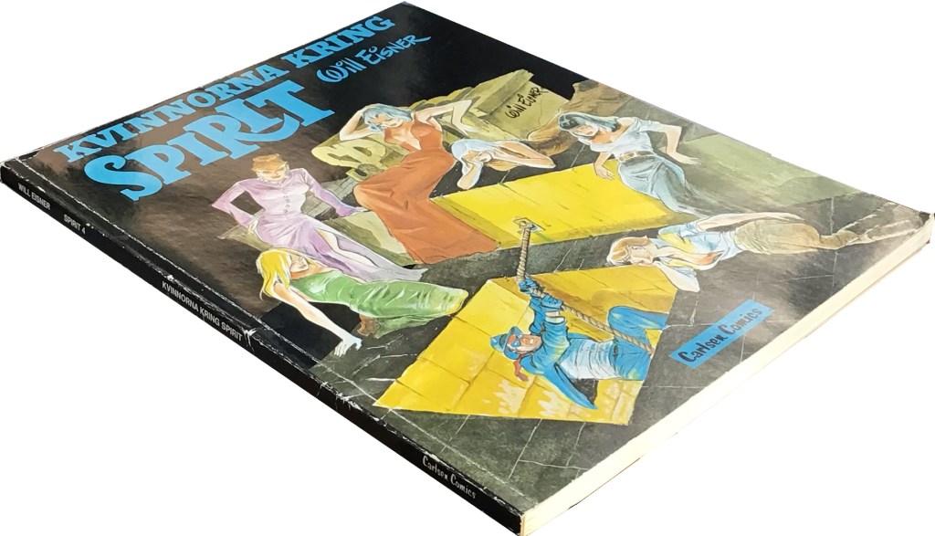 Spirit 4 var är en omfångsrik volym på totalt 100 sidor. ©Carlsen/Eisner