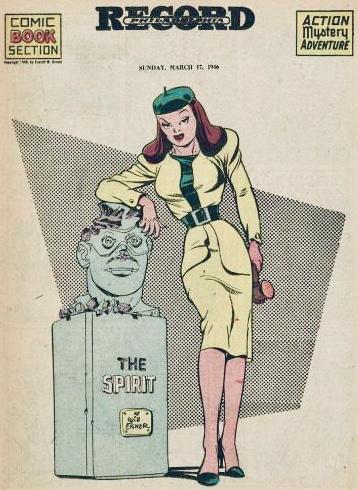 Inledande sida i original, från 17 mars 1946. ©Register&Tribune
