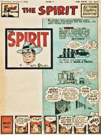 Inledande sida i original, från 17 oktober 1948. ©Register&Tribune