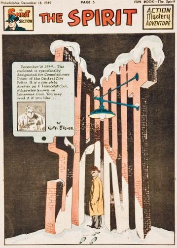 Inledande sida i original, från 18 december 1949. ©Register&Tribune