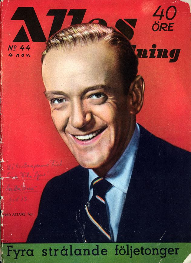 Omslag till nr 44, 1955. ©Allas