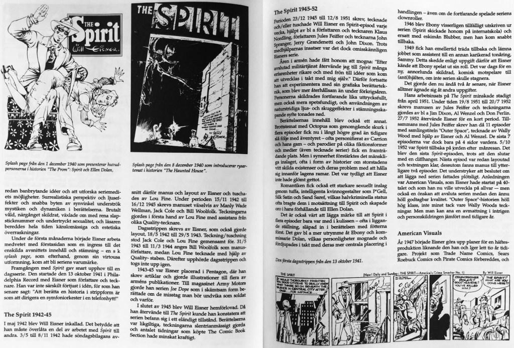 Ett till uppslag ur artikeln 50 år med Spirit. ©Hjort-Jørgensen/Höök