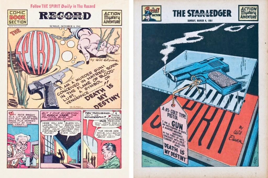 Inledande titelsida till Spirit Section #123 och #562. ©Register&Tribune