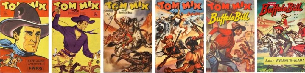 Tom Mix gick igenom flera identitetsbyten under sin korta existens. ©Serieförlaget