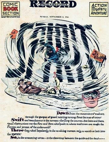 Inledande sida i original, från 8 september 1946. ©Register&Tribune