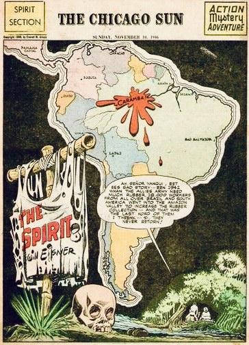 Inledande sida i original, från 10 november 1946. ©Register&Tribune