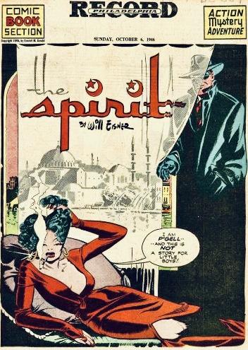Inledande sida i original, från 6 oktober 1946. ©Register&Tribune