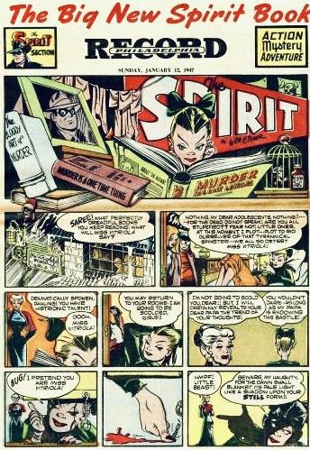 Inledande sida i original, från 12 januari 1947. ©Register&Tribune