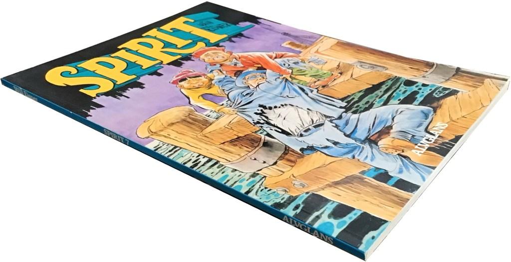 Spirit 7 var är en volym på totalt 64 sidor. ©Alvglans/Eisner