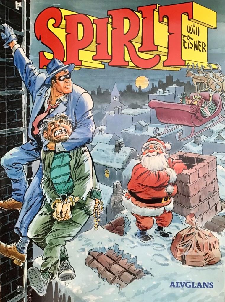 Omslag till Spirit 11 (1990). ©Alvglans/Eisner