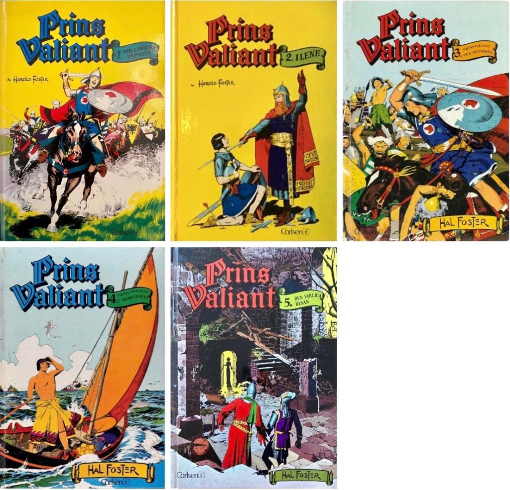 Omslag till If:s klassiker Prins Valiant. ©Carlsen