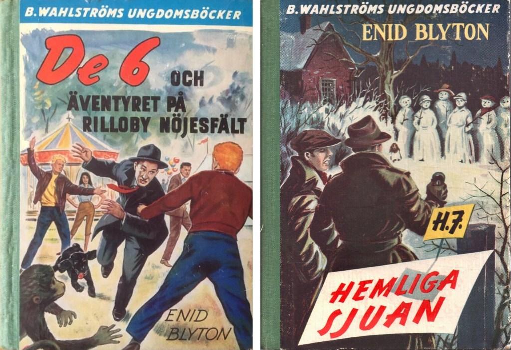 En av De 6-böckerna, och en av Hemliga Sjuan. ©Wahlströms